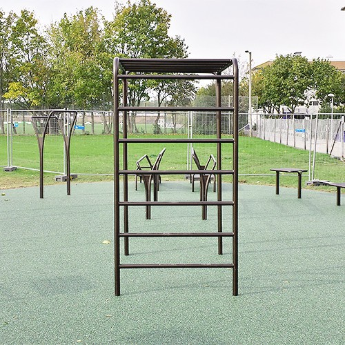 Gadehavegård udendørs træningspark fitness område