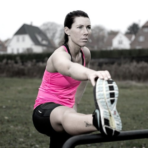 Flotte udendørs træningsredskaber extend back thighs spirer 700