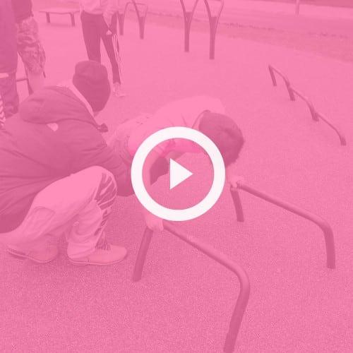 Udendørs træningsredskaber video aabning taastrup